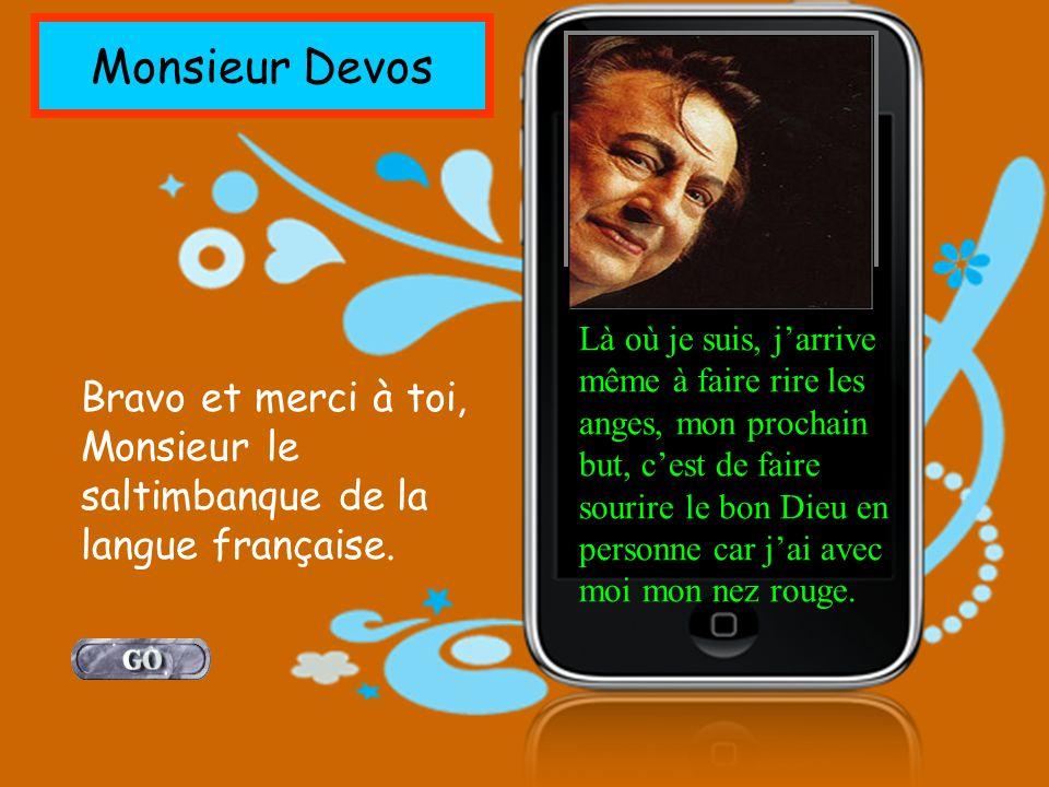 Monsieur Devos