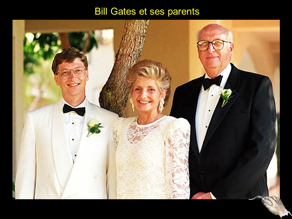 Bill Gates et ses parents