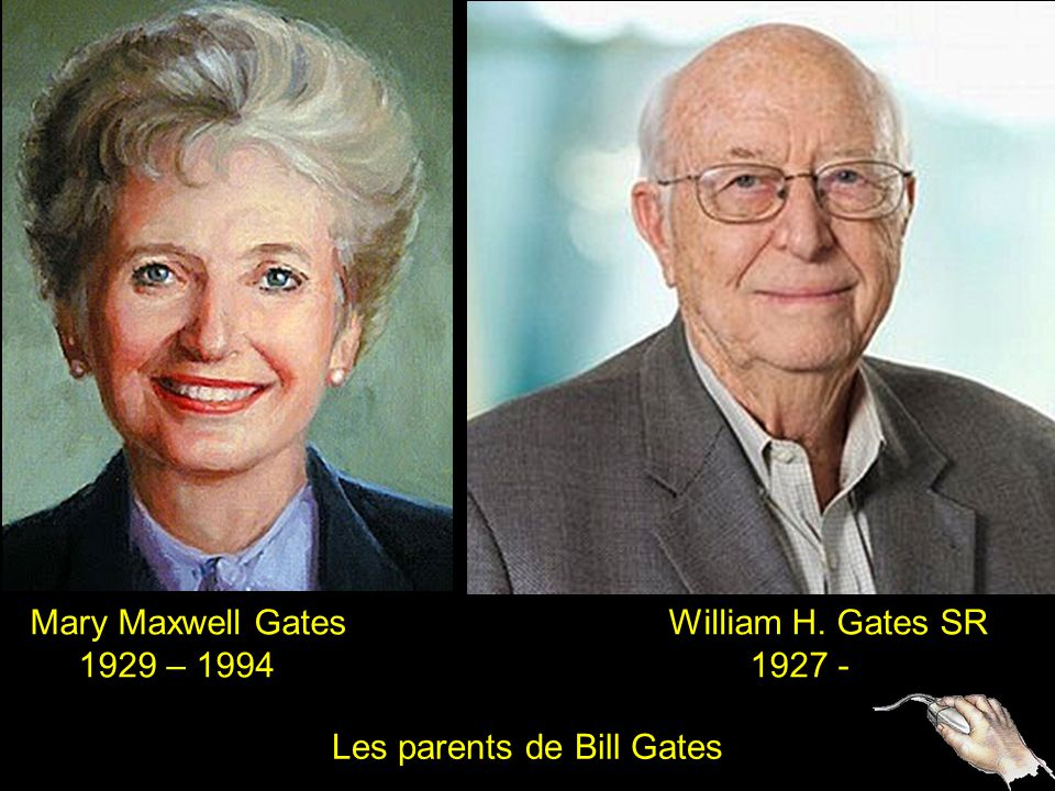 Les parents de Bill Gates
