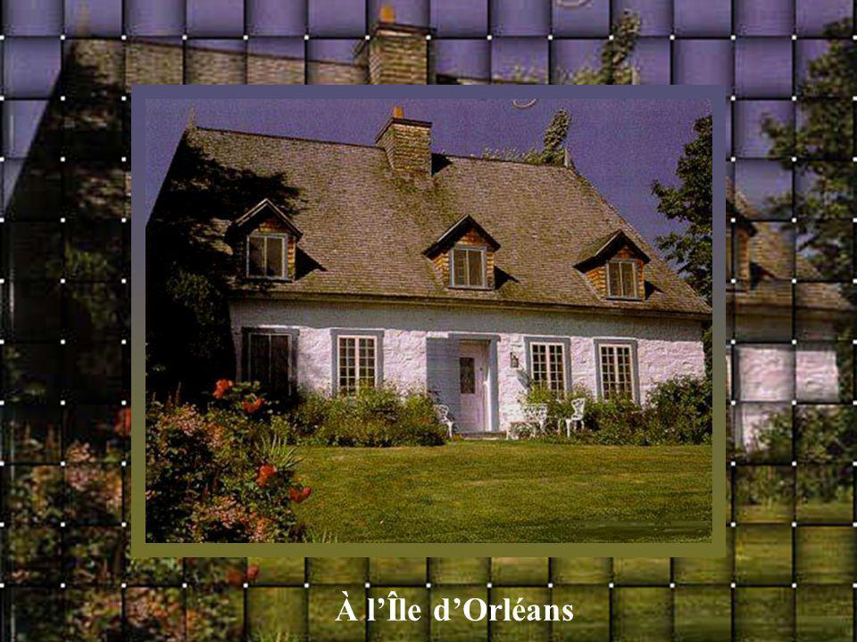 À l'Île d'Orléans