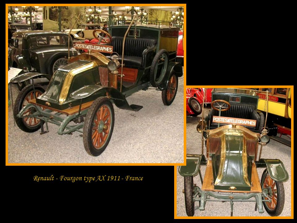 Renault - Fourgon type AX 1911 - France
