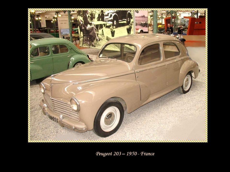 Peugeot 203 – 1950 - France
