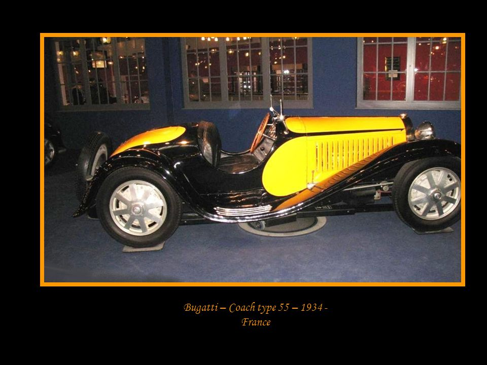 Bugatti – Coach type 55 – 1934 - France