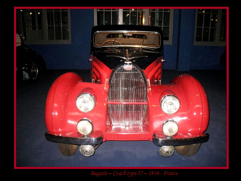 Bugatti – Coach type 57 – 1936 - France