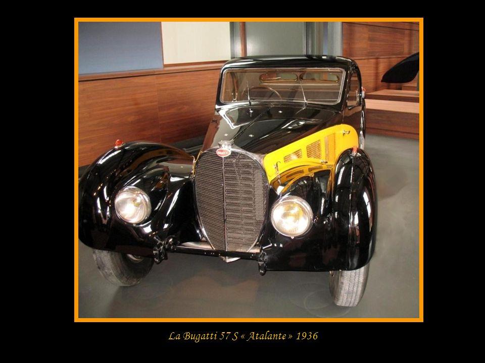 La Bugatti 57 S « Atalante » 1936
