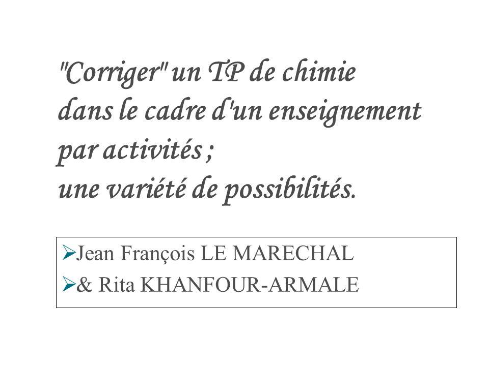 Jean François LE MARECHAL & Rita KHANFOUR-ARMALE