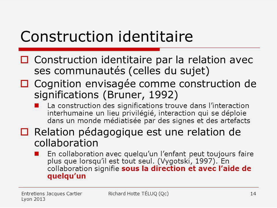 Construction identitaire