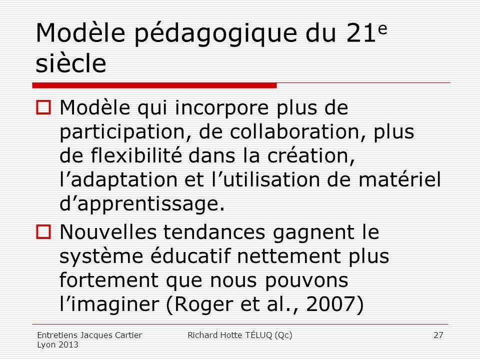 Modèle pédagogique du 21e siècle