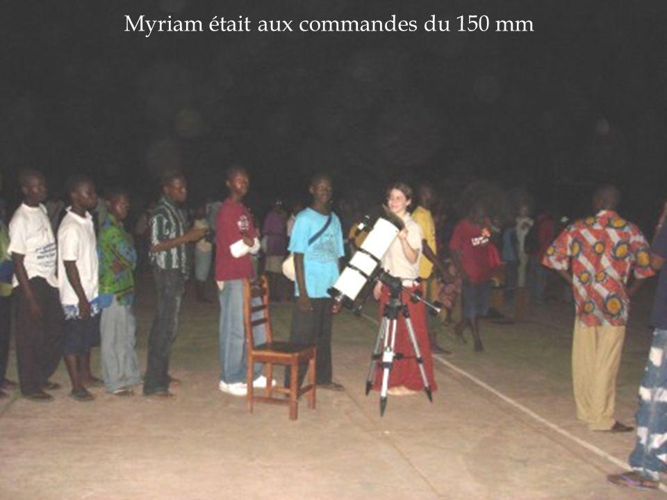 Myriam était aux commandes du 150 mm