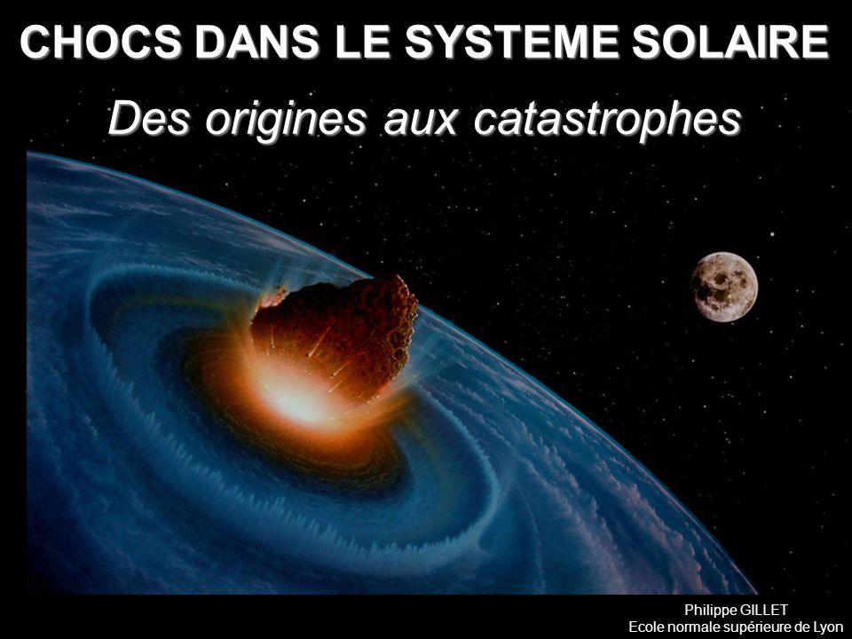 CHOCS DANS LE SYSTEME SOLAIRE