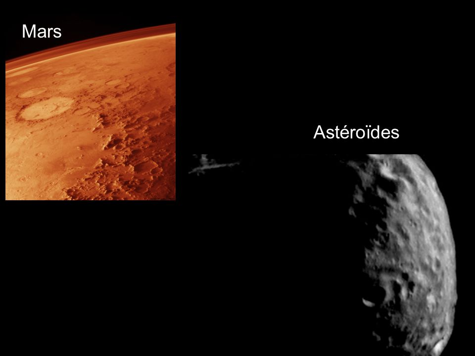 Mars Astéroïdes