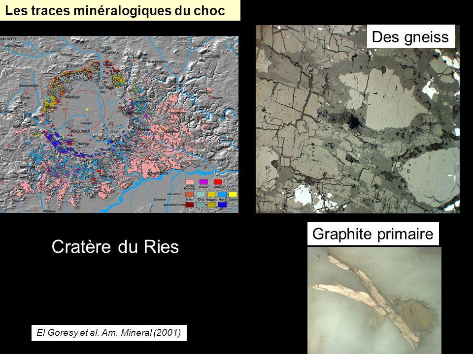 Cratère du Ries Des gneiss Graphite primaire