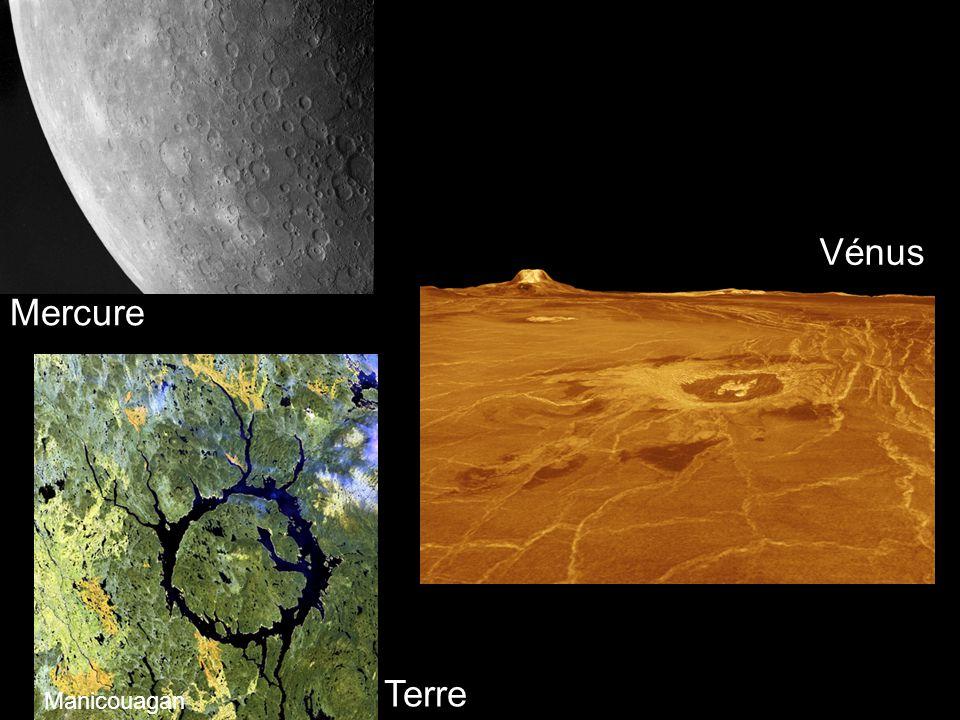 Vénus Mercure Terre Manicouagan