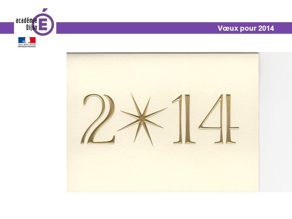 Vœux pour 2014