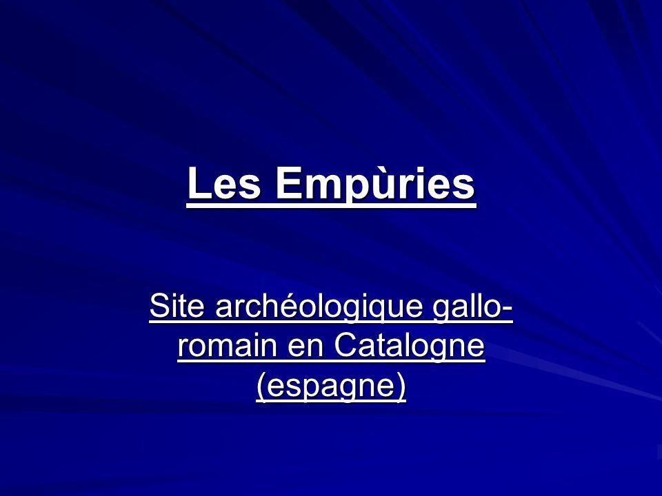 Site archéologique gallo-romain en Catalogne (espagne)