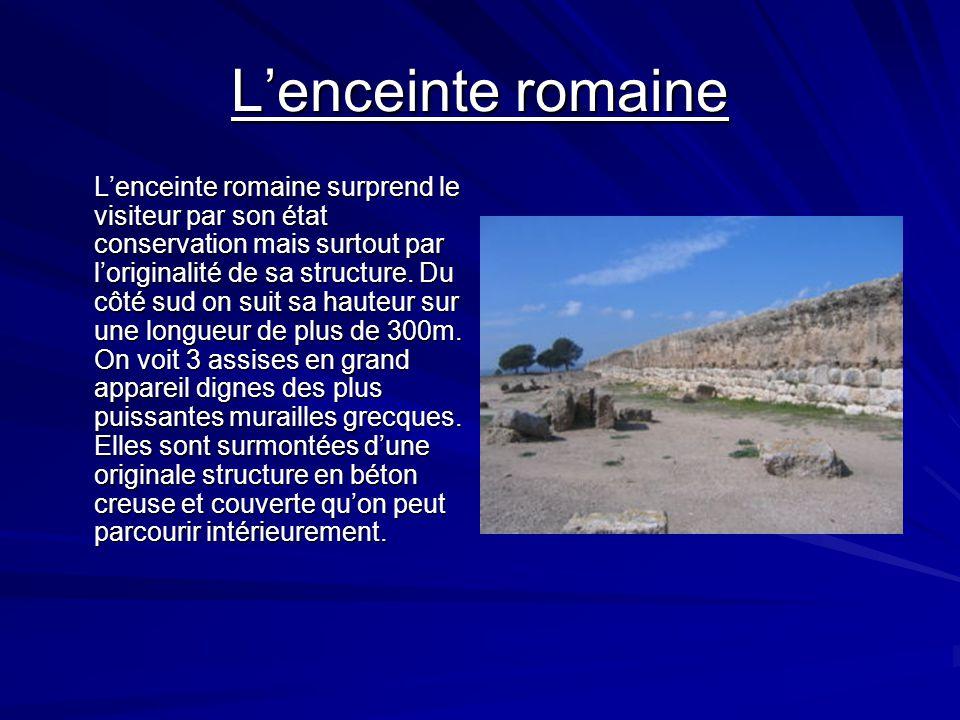 L'enceinte romaine