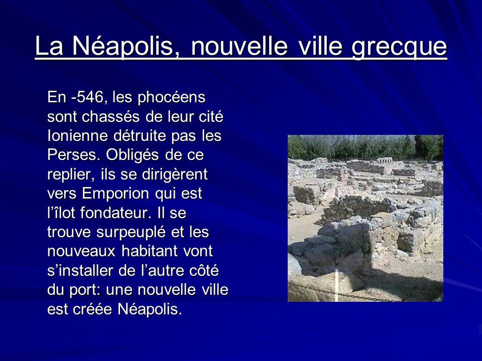 La Néapolis, nouvelle ville grecque