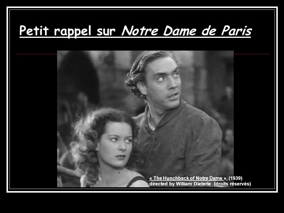 Petit rappel sur Notre Dame de Paris