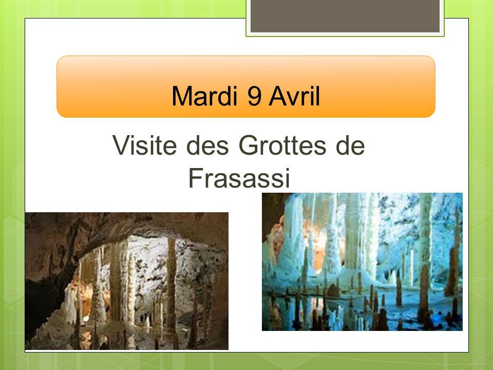 Visite des Grottes de Frasassi