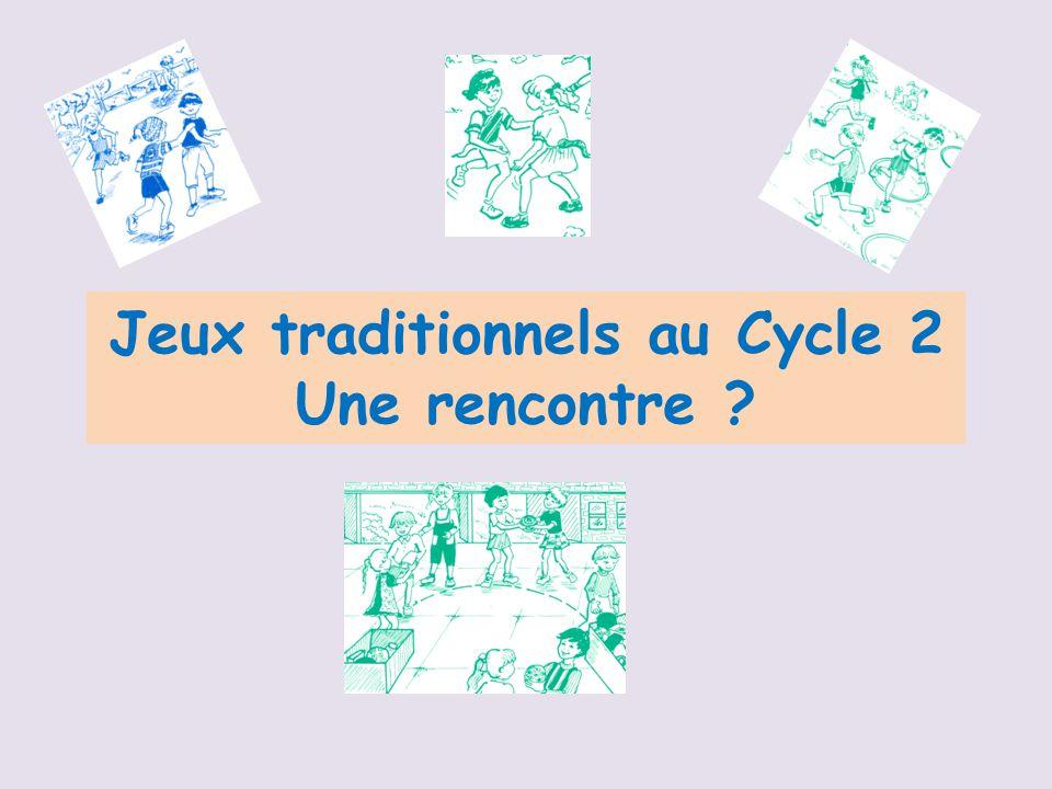 Bien-aimé Jeux traditionnels au Cycle 2 - ppt télécharger NS38