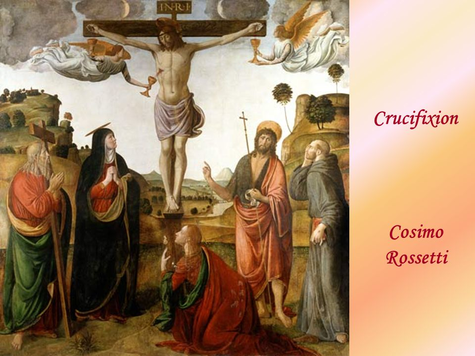 Crucifixion Cosimo Rossetti