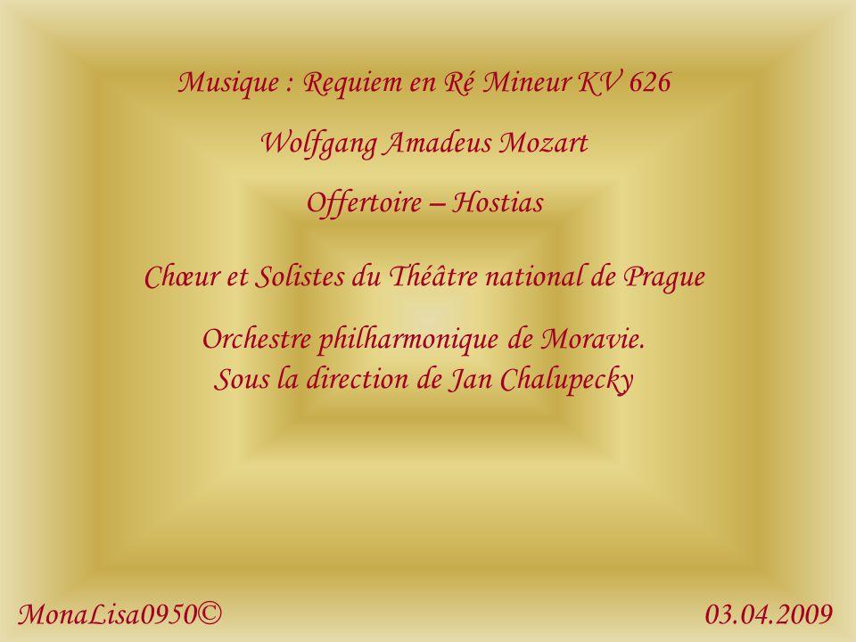 Musique : Requiem en Ré Mineur KV 626 Wolfgang Amadeus Mozart