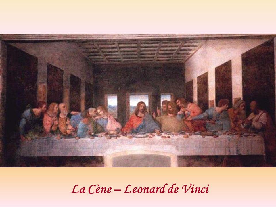 La Cène – Leonard de Vinci