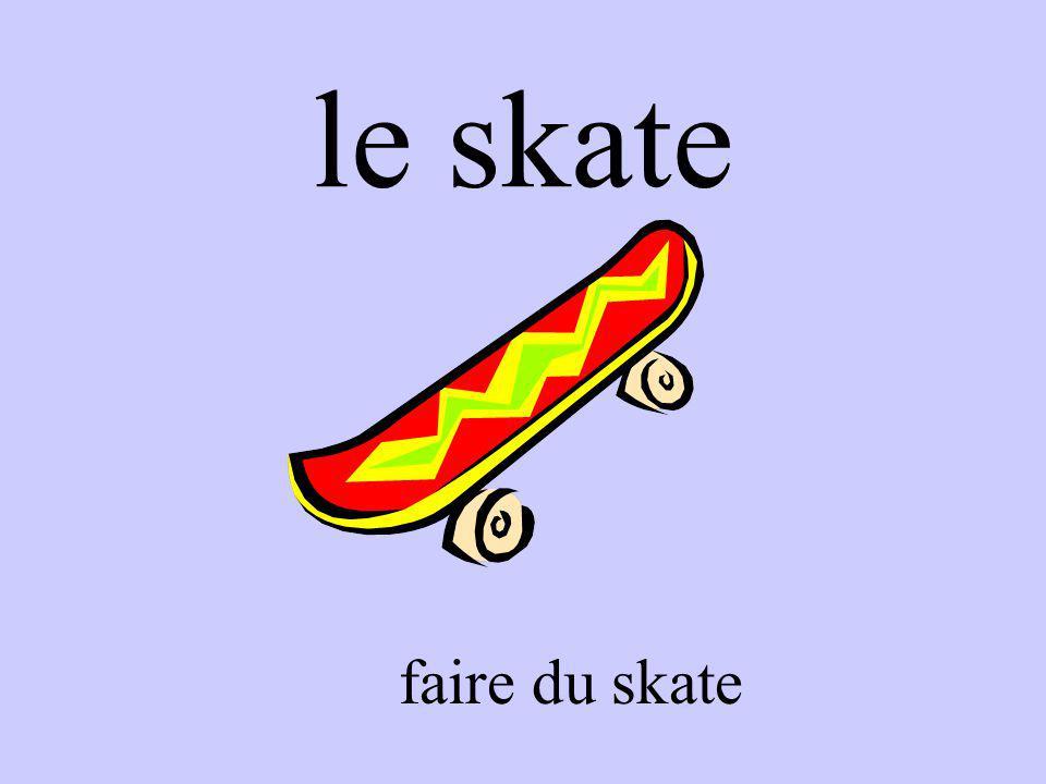 le skate faire du skate
