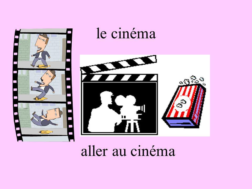 le cinéma aller au cinéma