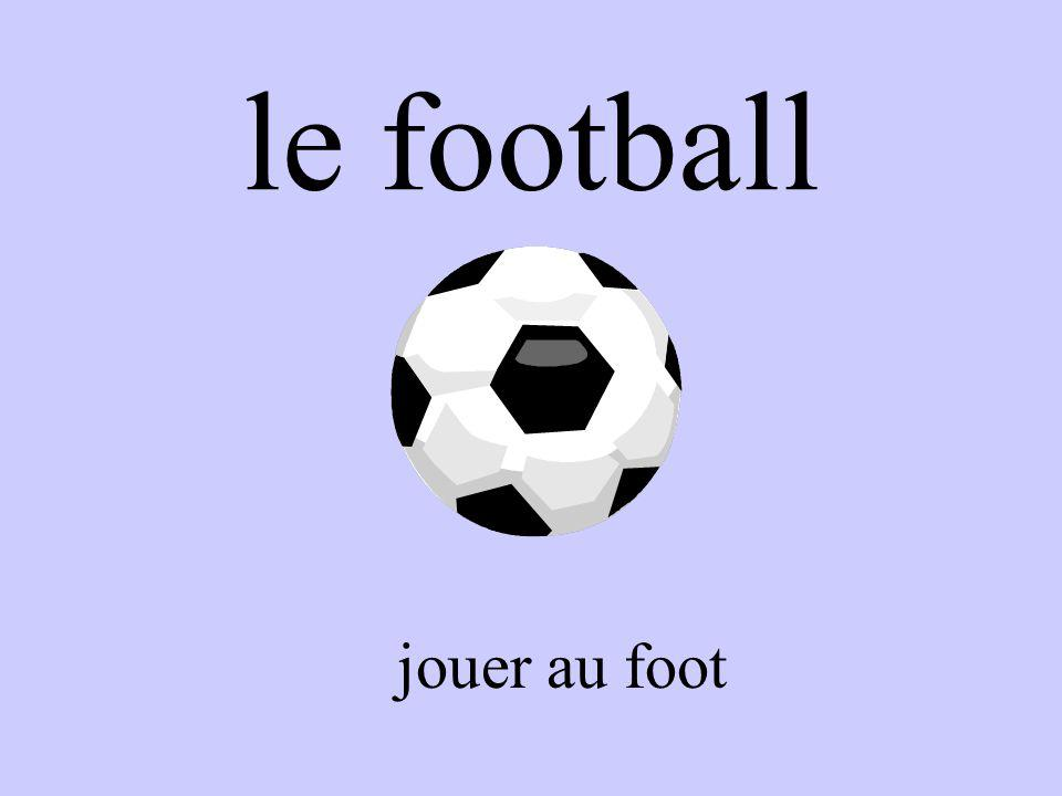 le football jouer au foot