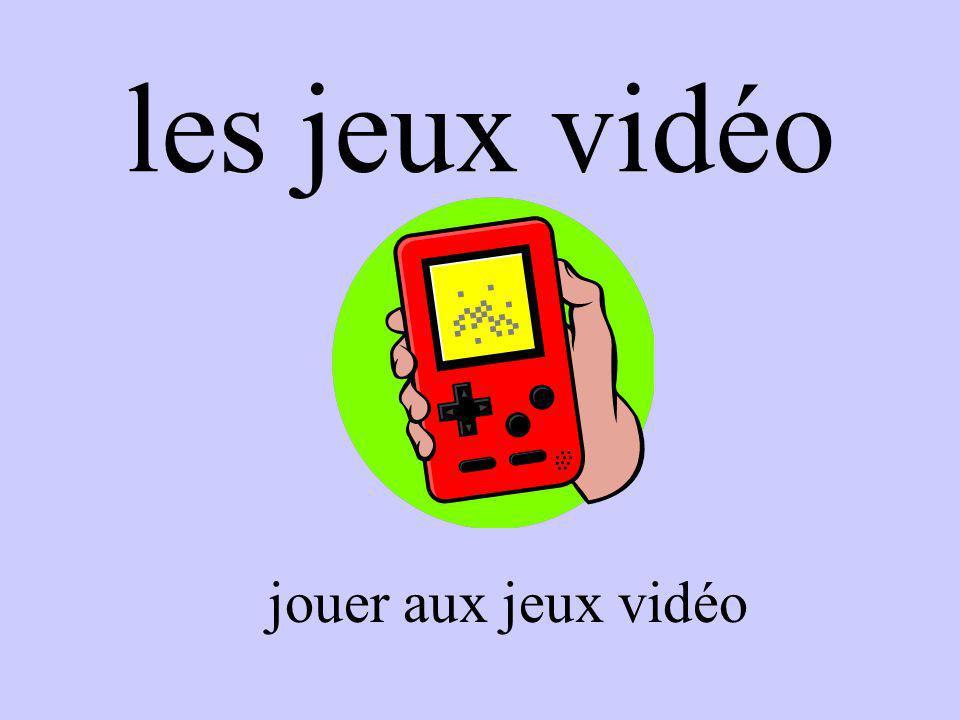 les jeux vidéo jouer aux jeux vidéo