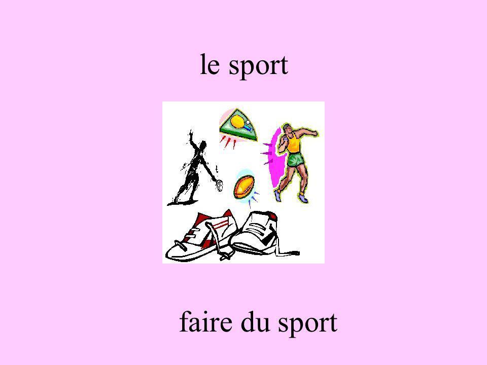 le sport faire du sport