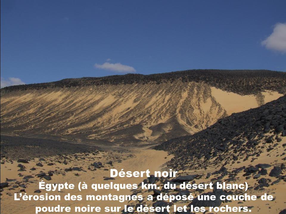 Désert noir Égypte (à quelques km