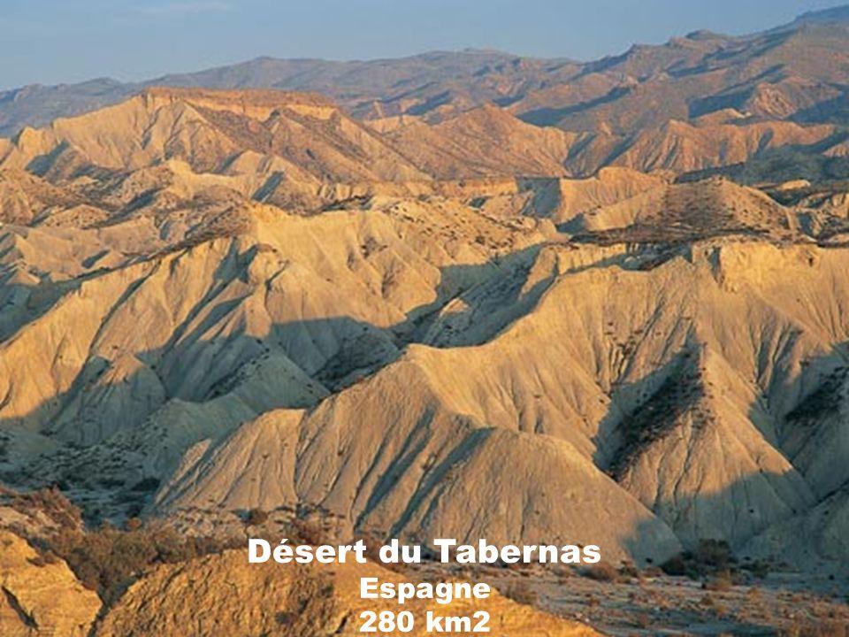 Désert du Tabernas Espagne 280 km2