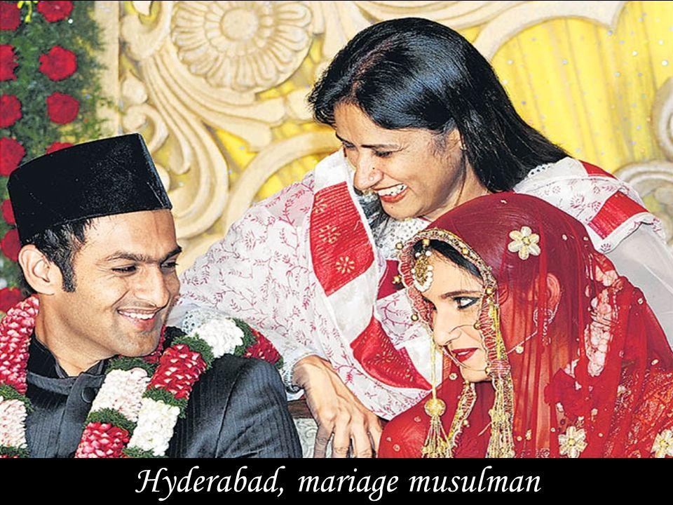Hyderabad, mariage musulman