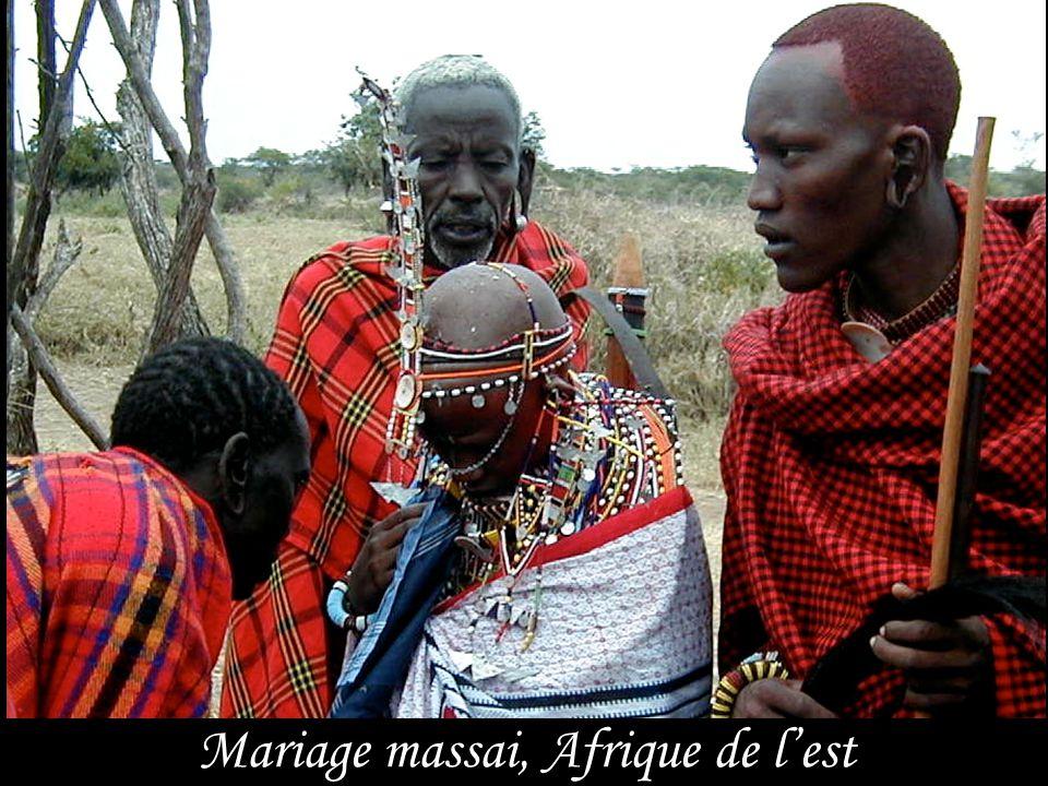 Mariage massai, Afrique de l'est