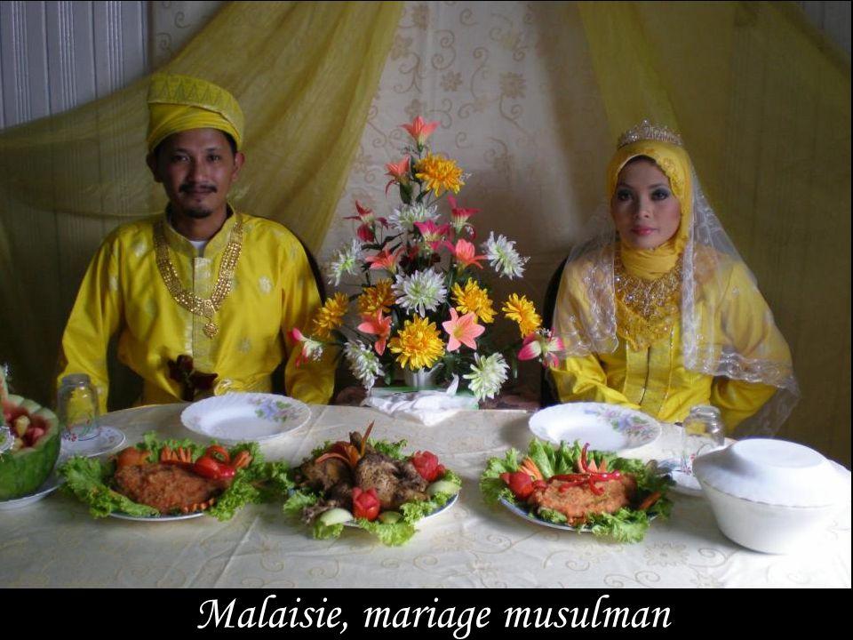 Malaisie, mariage musulman