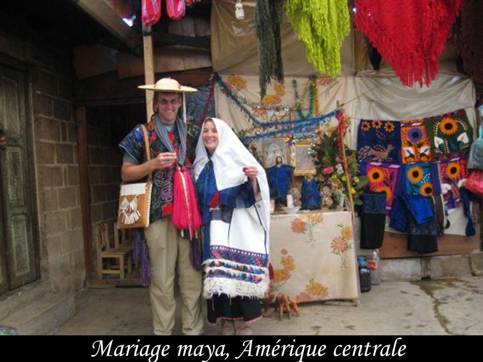 Mariage maya, Amérique centrale