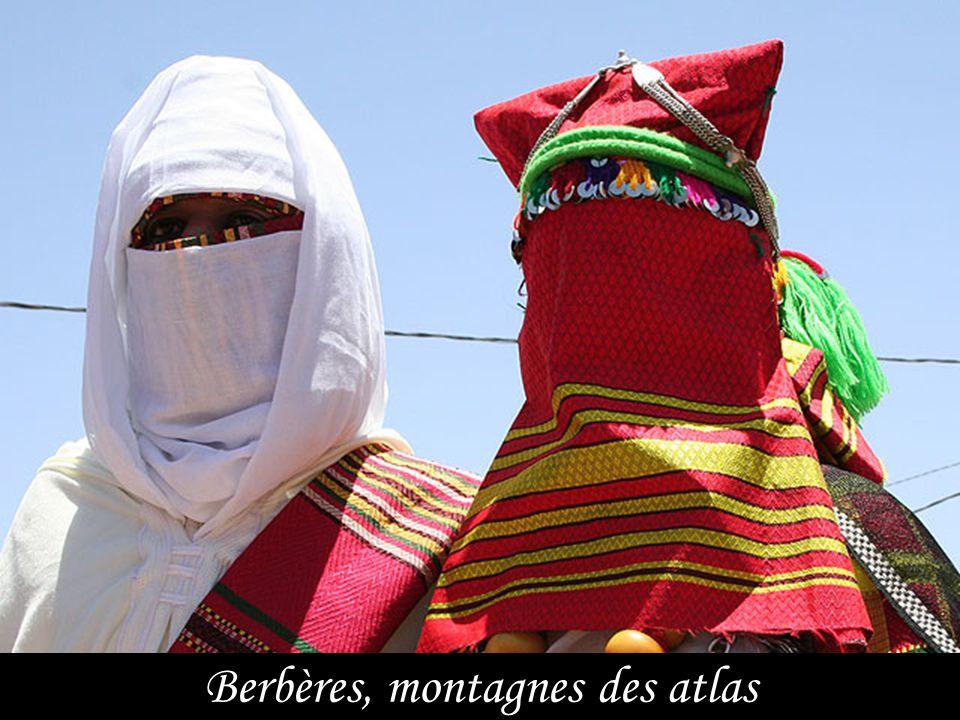 Berbères, montagnes des atlas
