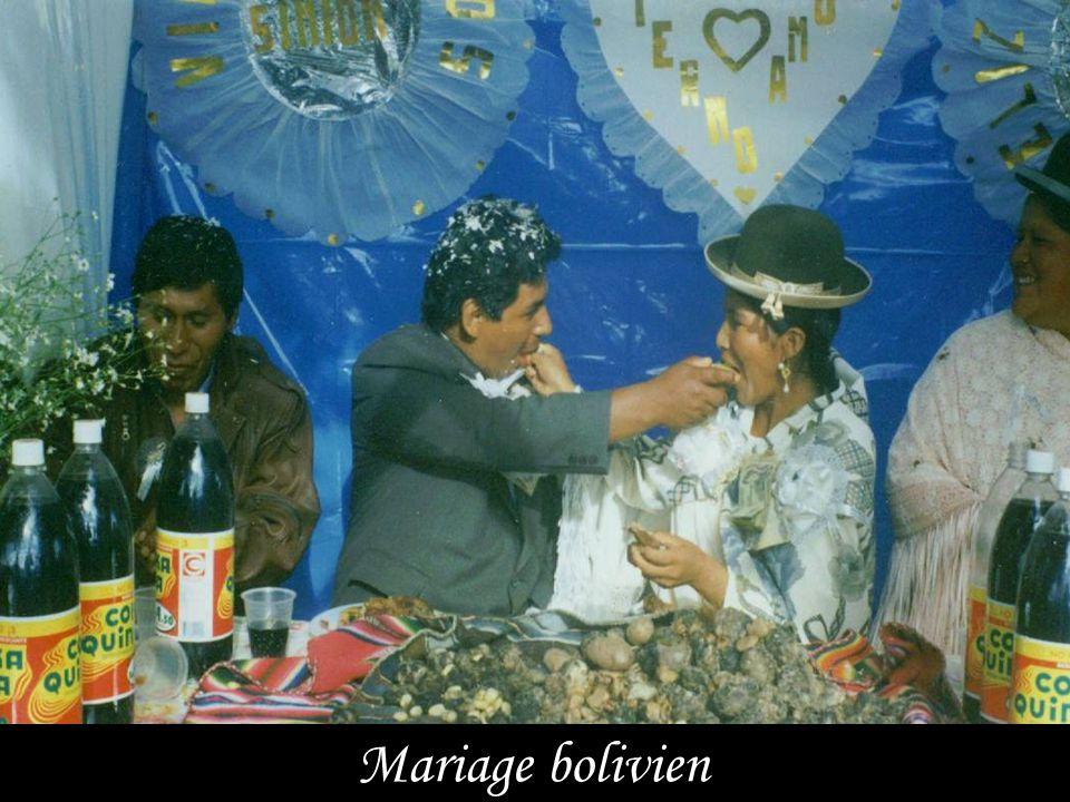 Mariage bolivien