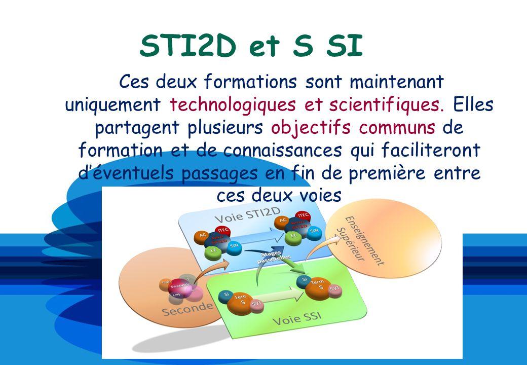 STI2D et S SI