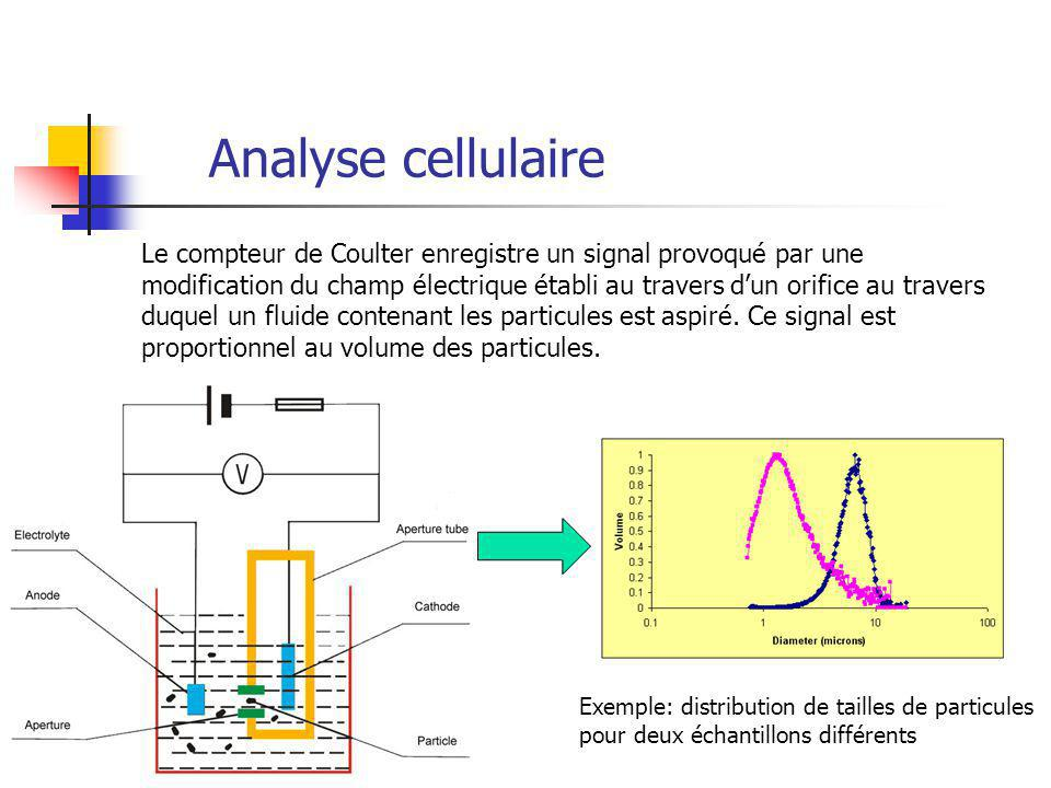 Analyse cellulaire