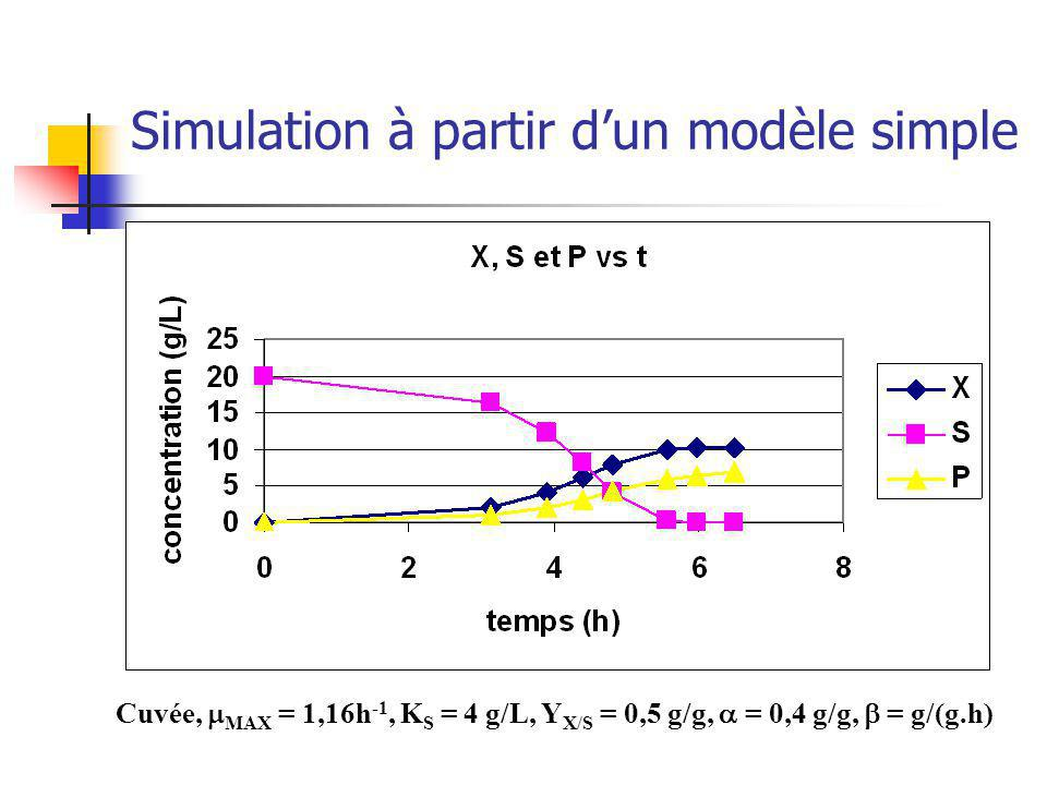 Simulation à partir d'un modèle simple