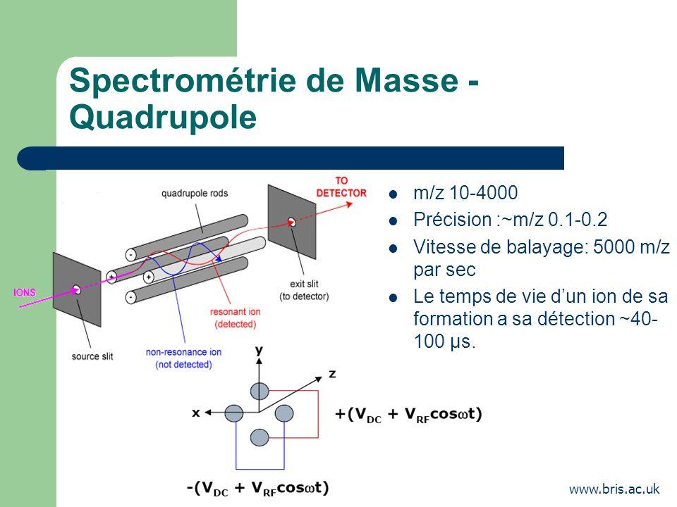 Spectrométrie de Masse - Quadrupole