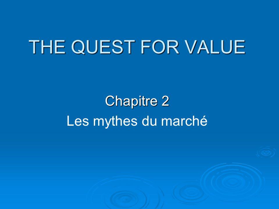 Chapitre 2 Les mythes du marché