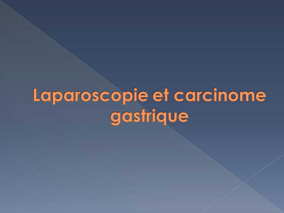 Laparoscopie et carcinome gastrique