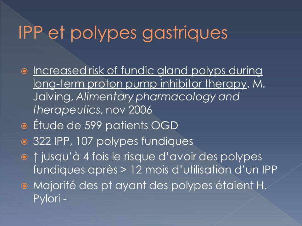 IPP et polypes gastriques