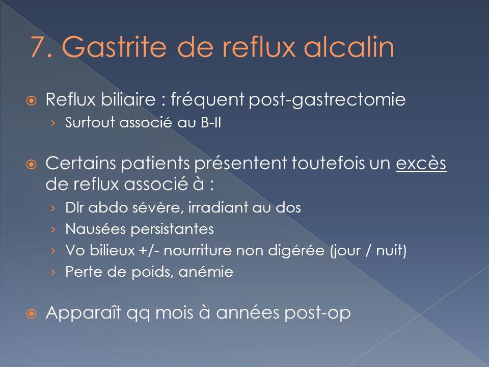 7. Gastrite de reflux alcalin