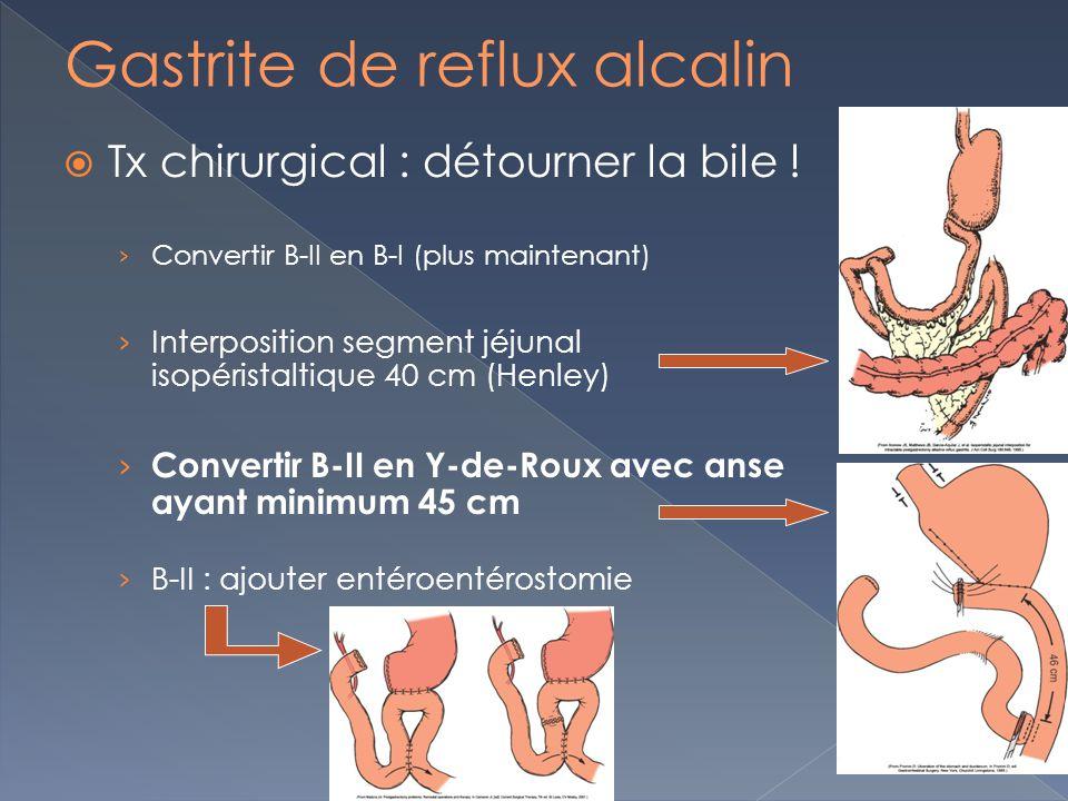 Gastrite de reflux alcalin