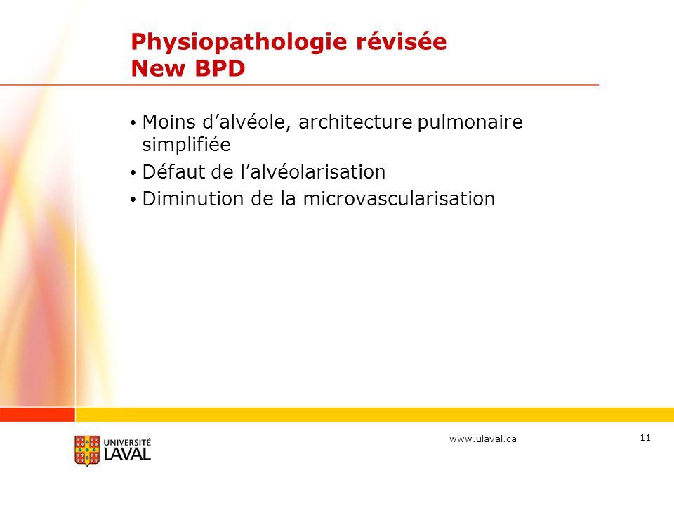 Physiopathologie révisée New BPD